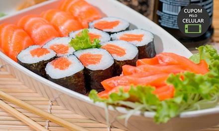 Almoço ou jantar com sequência livre à vontade para 1 ou 2 pessoas no Bamboo Sushi