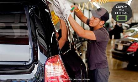 Car Dry –Osasco: lavagem completa (opção com higienização, enceramento manual e limpeza técnica do motor)