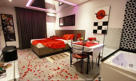 Motel Vianna Castelo: 3, 6 ou 12h em suíte Carícia, Oriental, Luar, Cupido, Grega e Vianna Máster