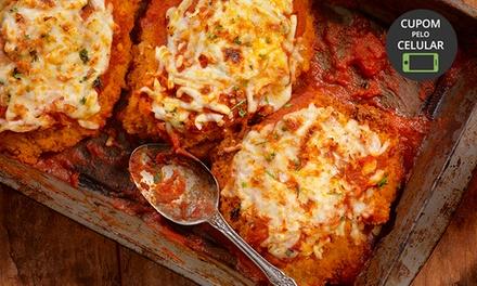 Cantina de Vícolos – Gramado: parmegiana com arroz e fritas para 2 pessoas