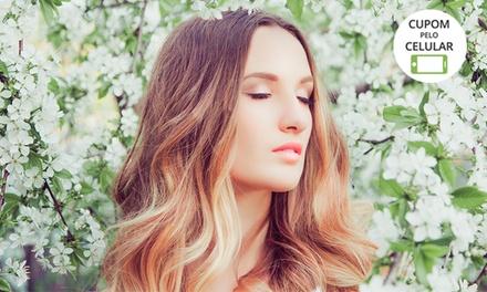Ombré hair, californianas ou luzes (opção com matização, hidratação e mais) no Stúdio e Esmalteria Excellence   Contagem