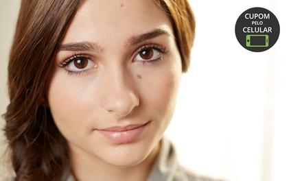 Mais Olhar – Santa Mônica: dermopigmentação e design de sobrancelha (com opção de retoque)