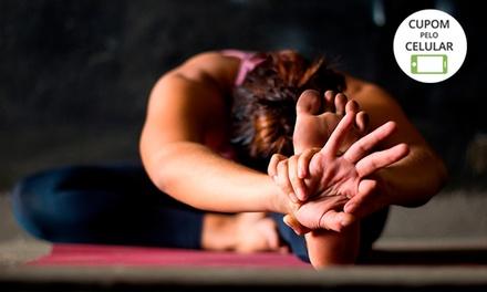 1, 3 ou 6 meses de aulas de ioga no Espaço Ong Namo – São Braz