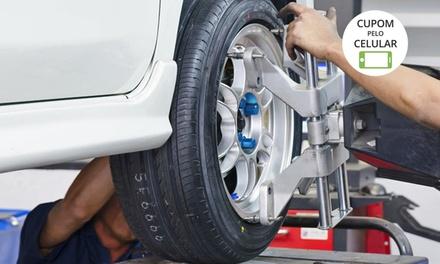 Topcar Pneus   Campinho: alinhamento e balanceamento (opção com troca de óleo ou revisão)
