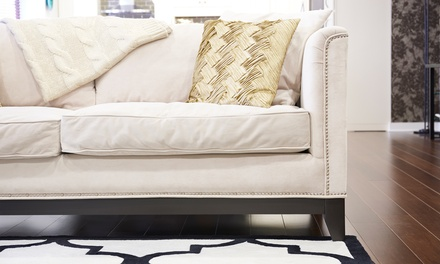 Higicom: lavagem a seco de sofá de 2 ou 3 lugares