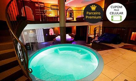Motel P90: pernoite nas suítes VIP ou VIP árabe para 2 ou festa Ilhas Gregas ou VIP voyeur para 6 ou até 16
