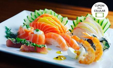 Rodízio japonês no jantar com sobremesa para 1, 2 ou 4 pessoas no Hikouki Sushi– Campo Belo