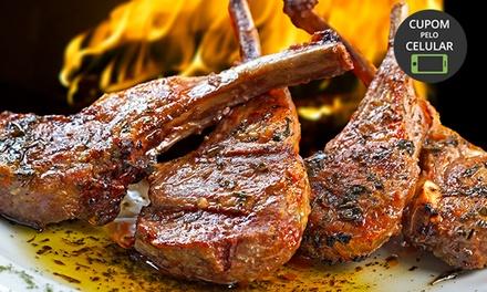 Rodízio de carneiro para 1, 2 ou 4 pessoasno Sabor & Prosa – Bacacheri