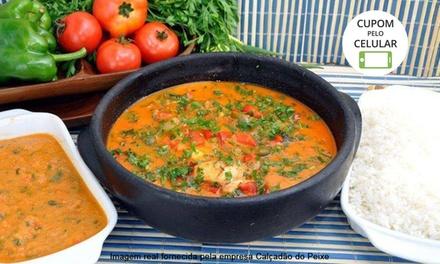 Calçadão do Peixe – Campo Belo: almoço ou jantar com frutos do mar ou peixes para 2 ou 4 pessoas