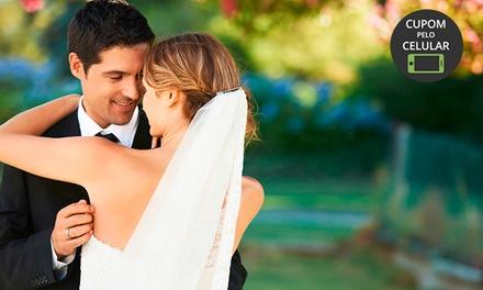 NV Foto e Vídeo: cobertura completa externa para casamento + making off