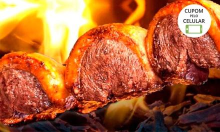 Rodízio de carnes para 1 ou 2 pessoas na Churrascaria Cruzeiro do Sul – Botafogo