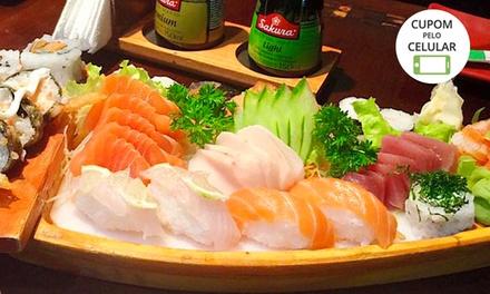 Rodízio no almoço ou no jantar para 1 ou 2 pessoas no Sushi do Papa – Alto da Lapa